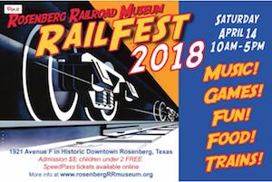 Rosenberg Railroad Museum RailFest 2018