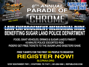 8th Annual Law Enforcement Memorial Ride