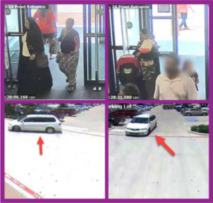 Sugar Land Police are looking for suspects who stole merchandise.
