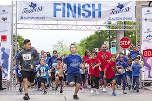 Autism Speaks 8K and 1K Kid's Fun Run