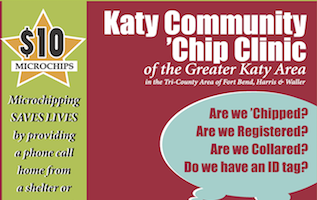 Katy Community 'Chip Clinic