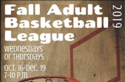 Fall Adult Basketball Sugar Land