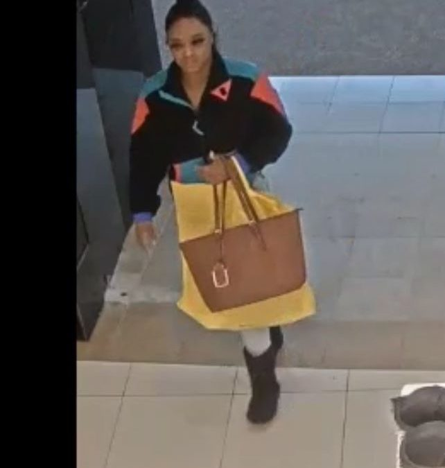 The Sugar Land Police Department is looking for two suspects.