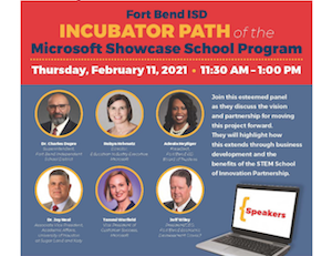 Fort Bend Chamber of Commerce's Education Division will host a virtual event showcasing the vision for a new STEM School of Innovation.